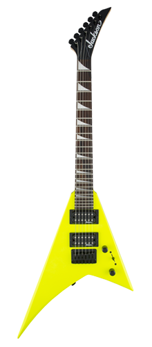 GUITARRA JACKSON RANDY RHOADS MINION JS1X - 291-3334-504 - NEON YELLOW