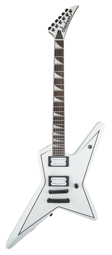GUITARRA JACKSON SIGN GUS G. STAR ROSEWOOD - 291-9000-576 - SATIN WHITE