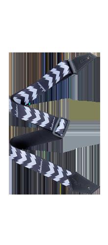 CORREIA NYLON JACKSON DOUBLE V 299-3258-001 BLACK/WHITE