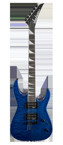 GUITARRA JACKSON DINKY ARCH TOP JS32TQ - 291-0128-586 - QUILTED MAPLE TRANSPARENT BLUE