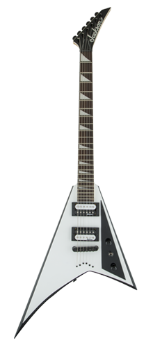 GUITARRA JACKSON RANDY RHOADS JS32T - 291-0127-577 - WHITE W/ BLACK BEVELS