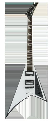 GUITARRA JACKSON RANDY RHOADS JS32T - 291-0127-577 - WHITE W/ BLACK BEVELS