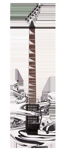 GUITARRA JACKSON SOLOIST SLX DX - 291-1123-576 - SATIN WHITE SWIRL
