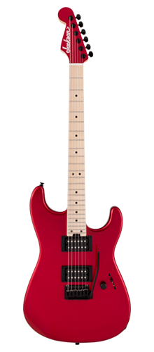 GUITARRA JACKSON SIGN GUS G. SAN DIMAS SD1 MAPLE - 291-8752-509 - CANDY APPLE RED