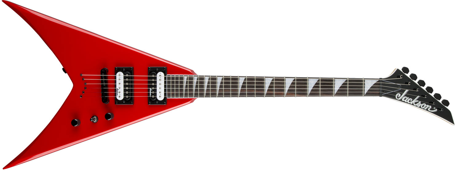GUITARRA JACKSON KING V 291 0124 - JS32T - 539 - FERRARI RED