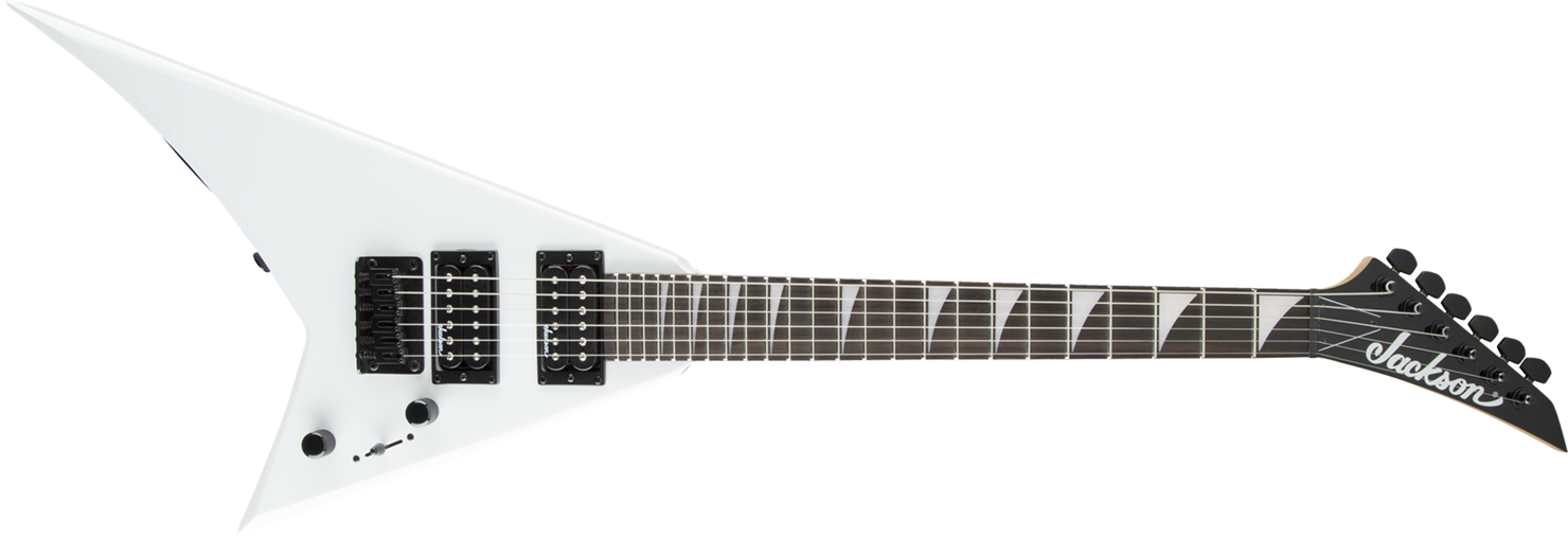 GUITARRA JACKSON RANDY RHOADS MINION 291 3333 - JS1X - 576 - SNOW WHITE