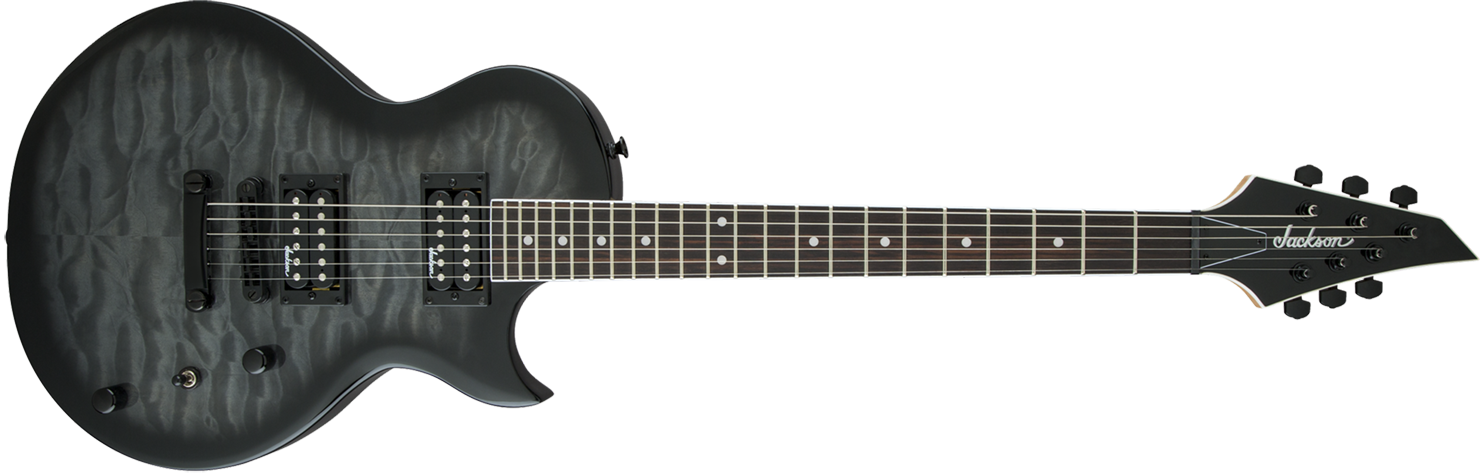 GUITARRA JACKSON MONARKH SC 291 6901 - JS22 - 585 - TRANSPARENT BLACK