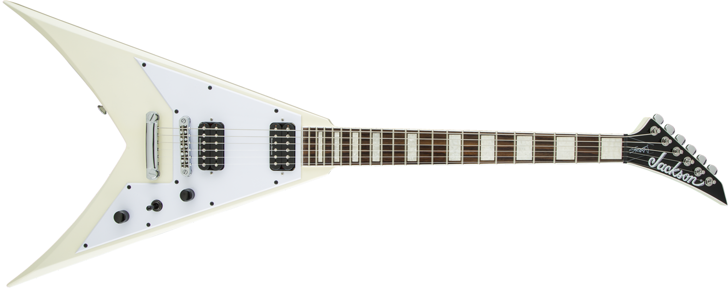 GUITARRA JACKSON SIGN 291 6402 - SCOTT IAN KING V KVXT - 555 - IVORY
