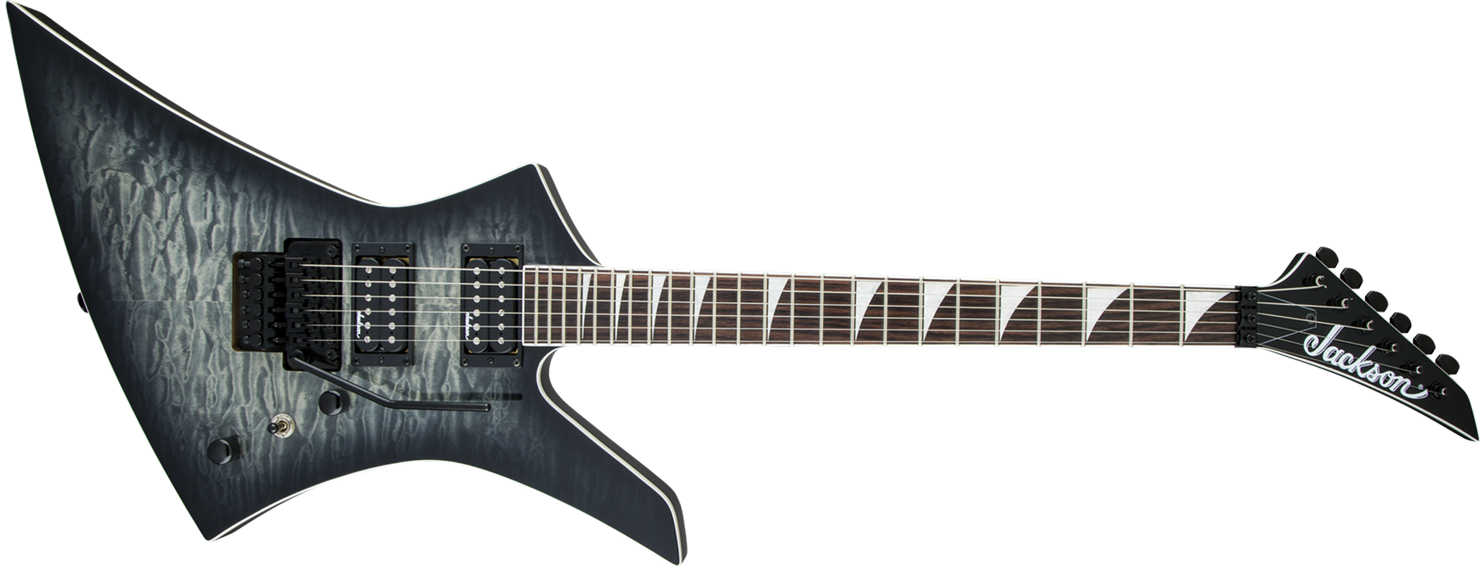GUITARRA JACKSON KELLY 291 6131 - KEXQ - 585 - TRANSPARENT BLACK BURST