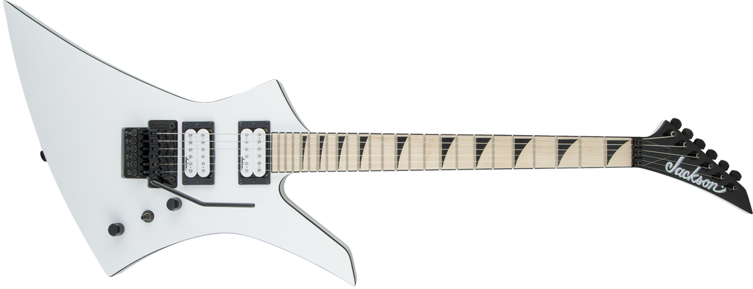 GUITARRA JACKSON KELLY 291 6131 - KEXM - 576 - SNOW WHITE