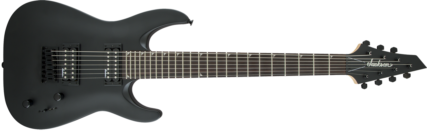 GUITARRA JACKSON DINKY ARCH TOP 291 0132 - JS22-7 - 568 - SATIN BLACK
