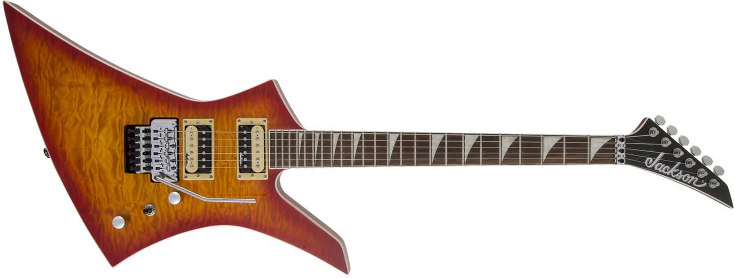 GUITARRA JACKSON KELLY KEXQ - 291-6131-514 - CHERRY BURST