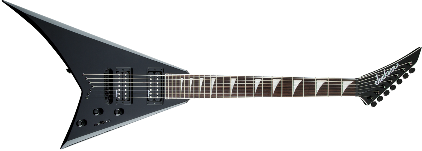 GUITARRA JACKSON RANDY RHOADS 291 6678 - RRXT24-7 - 503 - GLOSS BLACK