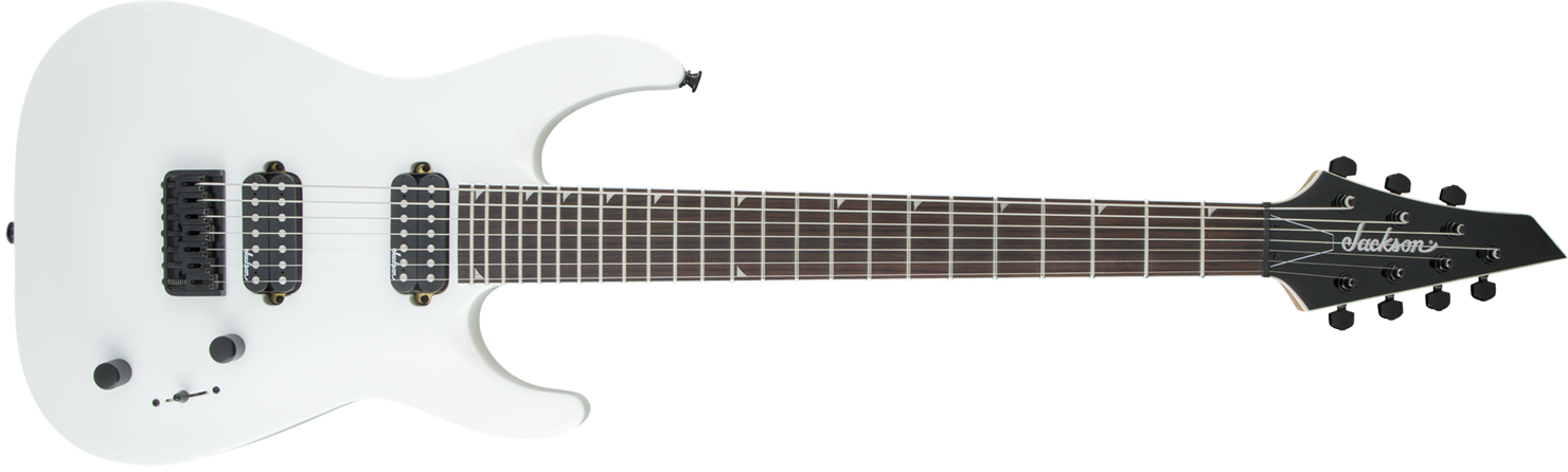 GUITARRA JACKSON DINKY ARCH TOP JS32-7 - 291-0113-576- SNOW WHITE